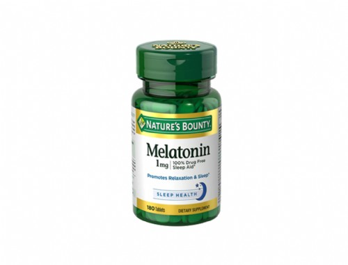 NATURE´S BOUNTY MELATONINA 1 MG 100 COMPRIMIDOS