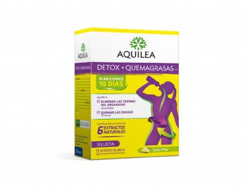 Aquilea Detox + Quemagrasas (10 Sticks)