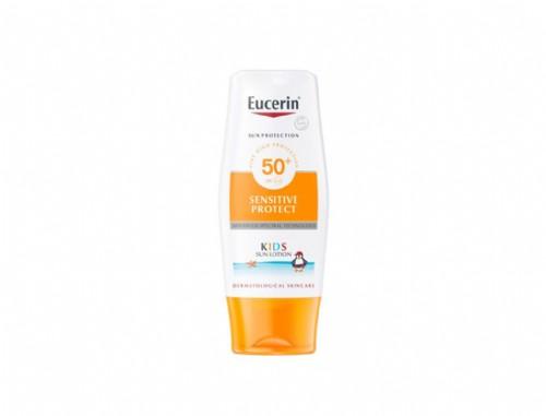 Eucerin Sun Creme Sensitive Protect Kids SPF 50 (50 ml pocket size)