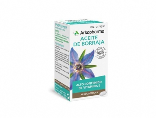 Arkopharma Borraja Aceite 50 Càpsulas