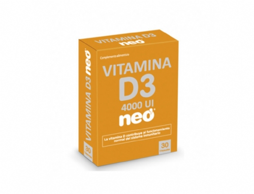 Neo Vitamina D3 30 cápsulas