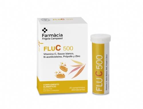 Unifarco Flu C 500 20 Comprimits