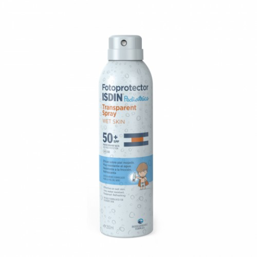 ISDIN FOTOPROTECTOR PEDIATRIC TRANSPARENTE - WET SKIN SP50+ (200 ML)