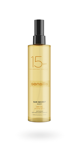 SENSILIS SUN SECRET ACEITE SECO CORPORAL SPF15 (200 ml)