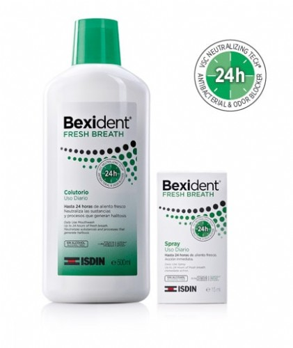 PACK BEXIDENT FRESH BREATH (COLUTORIO 500 ml + SPRAY)
