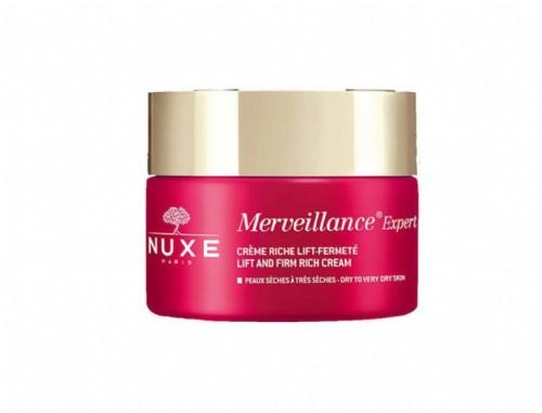 Nuxe Merveillance Expert Crema Rica Lift Firmeza Piel Seca 50ml