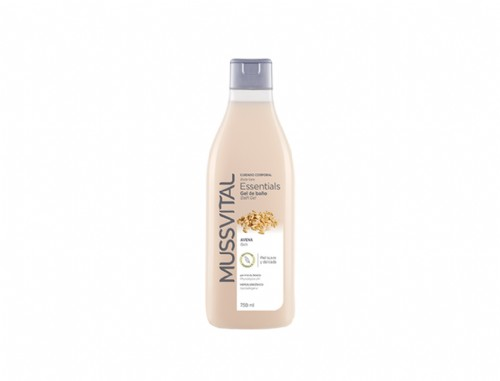 Mussvital Essentials Gel Baño Avena 750ml
