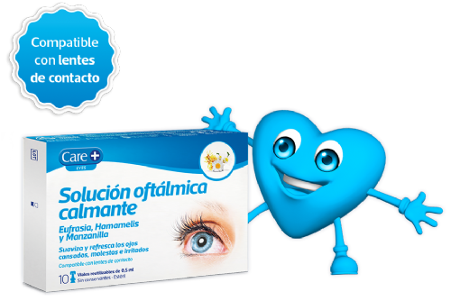 Care+ solucion oftalmica calmante (10 u x 0,5 ml)