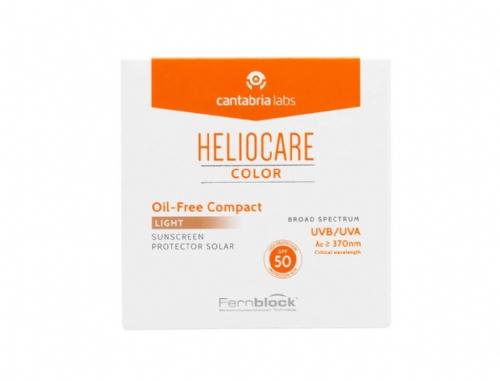 Heliocare SPF 50 Compacto Oil Free Light 10g