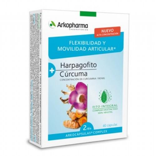 Arkopharma harpagofito y curcuma arkocapsulas complex (40 caps)