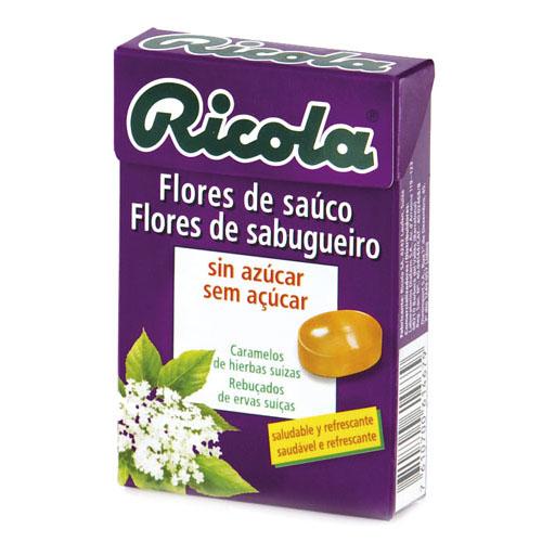 RICOLA CARAMELOS SIN AZUCAR (FLOR DE SAUCO 50 G)