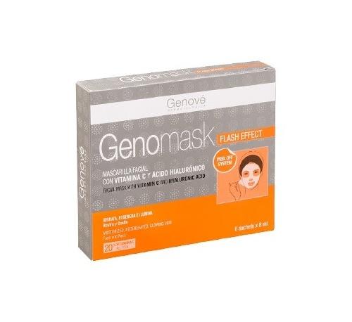 Genomask mascarilla facial con vitamina c (monodosis 8 ml)