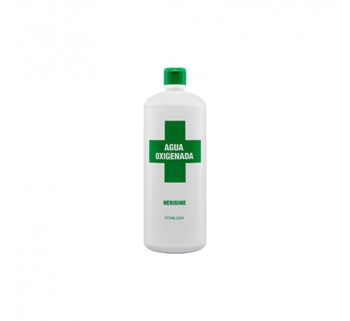 Agua oxigenada - heridine (3% 1 frasco 250 ml)