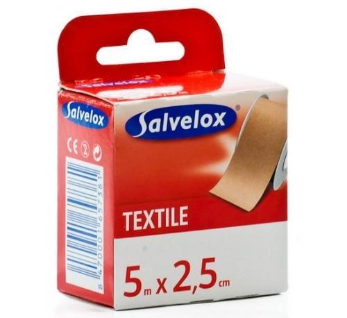 ESPARADRAPO - SALVELOX (TEXTIL CARNE 5 X 2,5)