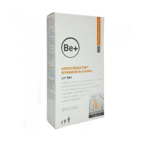Be+ aposito reductor y reparador de cicatrices (5 u 4 x 30 cm)