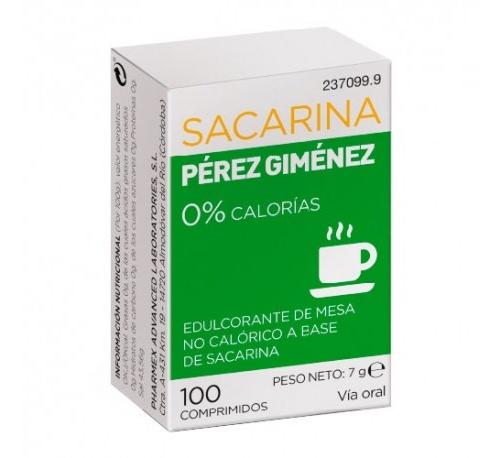 Sacarina perez gimenez (100 comprimidos)