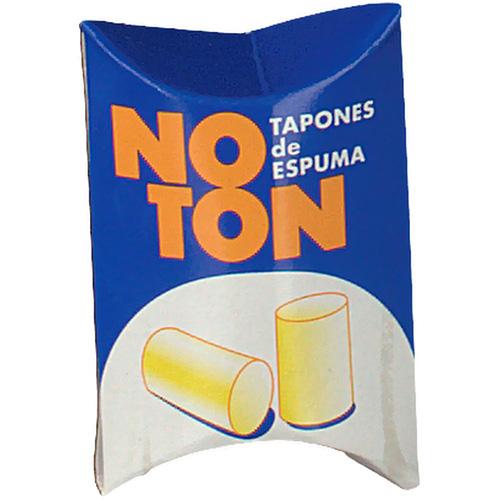 Tapones oidos gomaespuma - noton (2 u)