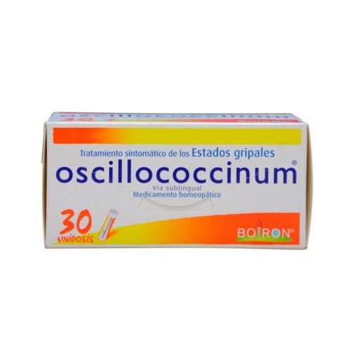 OSCILLOCOCCINUM 30 DOSIS BOIRON