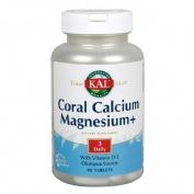 Kal coral calcium magnesium 90 comprimidos