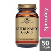 Solgar  nutri nano coenzima q10  30 mg 50 caps