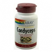 Solaray cordyceps 500 mg 60 c