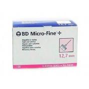 Aguja para plumas esteril - bd (29 g (0.33 mm x 12.7 mm) 100 u/caja)