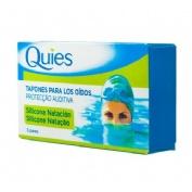 Tapones oidos silicona natacion - quies (estandar 6 u)