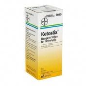 Tira reactiva cetonuria - ketostix (50 u)
