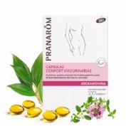 Aromafemina confort vias urinarias bio (30 capsulas)