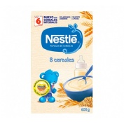 Nestle papilla 8 cereales (600 g)
