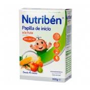 NUTRIBEN INICIO A LA FRUTA - PAPILLA SIN GLUTEN (300 G)
