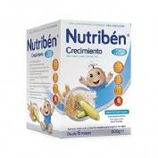 Nutriben cereales crecimiento con leche adaptada (600 g)