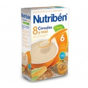 Nutriben 8 cereales y miel 4 frutas (600 g)
