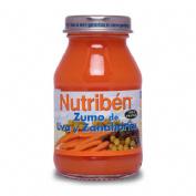 Nutriben zumo uva y zanahorias (130 ml 2 u bipack)
