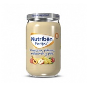 Nutriben manzana platano melocoton y piña (potito 235 g)