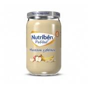 Nutriben manzana y platano (potito 235 g)