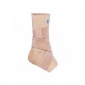 Tobillera elastica - prim aqtivo skin con almohadillas maleolares silicona y vendaje en 8 (t- s)