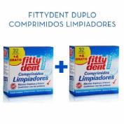Fittydent super comprimidos - limpieza protesis dental (duplo 72 comprimidos)