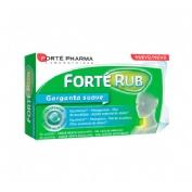 Forte rub garganta suave menta eucalipto 20 comprimidos