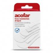 Aposito adhesivo resistente al agua - acofar (20 unidades color transparente surtidas)