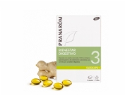 Pranarôm Oleocaps 3 Bienestar Digestivo 30 Cápsulas