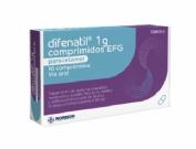 Difenatil EFG 1g 10 Comprimidos
