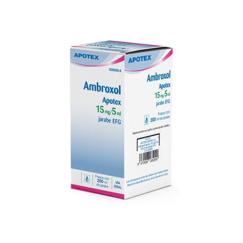 APOXOL 3 MG/ML JARABE EFG , 1 frasco de 200 ml