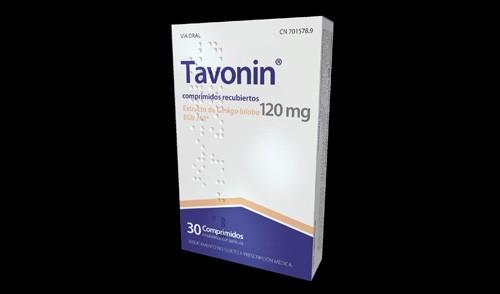 TAVONIN 120 MG COMPRIMIDOS RECUBIERTOS CON PELICULA , 30 comprimidos