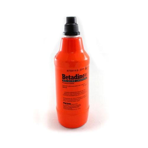 BETADINE JABONOSO 40 MG/ML SOLUCION CUTANEA , 1 frasco de 500 ml