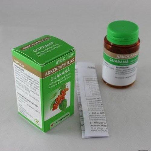ARKOCAPSULAS GUARANA 340 mg CAPSULAS DURAS, 100 cápsulas