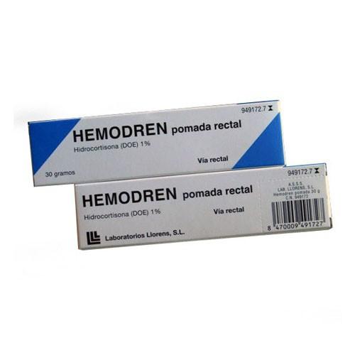HEMODREN POMADA RECTAL, 1 tubo de 30 g