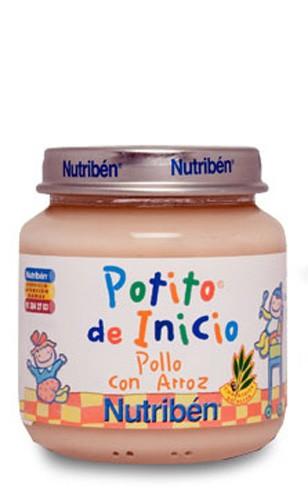Nutribén con Pollo y Arroz Potito Inicio 130 gr