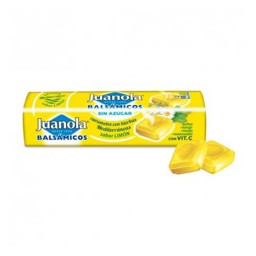 Juanola caramelos limon vit c y hierbas med (1 envase 32,4 g)
