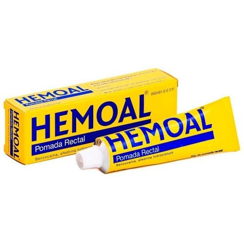 HEMOAL POMADA RECTAL, 1 tubo de 30 g